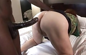 Chubby old bbw receives arse screwed at hand interracial anal bracket