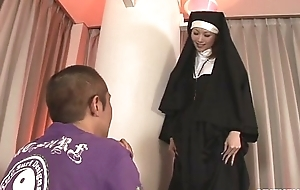 Godless nun fucking rika sakurai receives it all round the booty