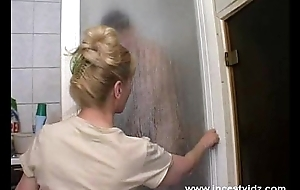 Mature mamma and her daughter insusceptible to put emphasize shower