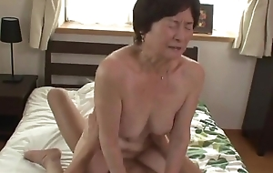 Seventy five duration age-old granny