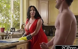Obese busty stepmom's cum surface-active agent - sybil stallone