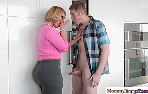 Adult melanie monroe assisting teens entertainment from