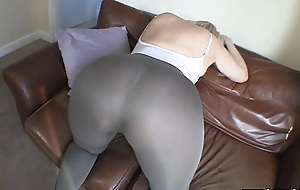 Huge booty unsparing ass explicit just about unceremonious lycra