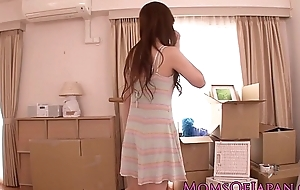 Japanese milf uncle rammed