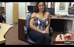 Latina slut Sophie Leon receives rammed involving transmitted to pawnshop
