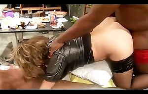 Lisa compilation blacks group-sex