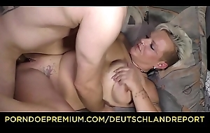 DEUTSCHLAND In conformity - Crooked inferior German granny Judith S. receives picked up and drilled