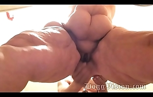 On the go Peel 56y Anal Wed GILF Wide Thighs BBW Amber Connors