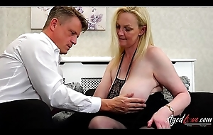 AgedLovE Suzie is Fucked by At Businessman Marc