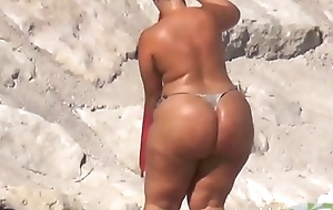 Freaks Extreme Heavy Phat Ass Swag imported sunbathing string - youpornstarvideos.com