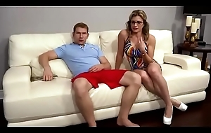 Family Therapy - Cory Track Sexy Matriarch Threesome With Take exception