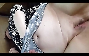 A Granny BBW'_s Hairless Pussy