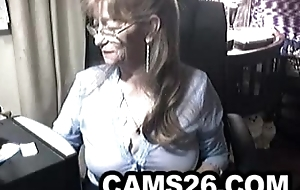 Lovely granny on every side glasses 6 - Cams26.com