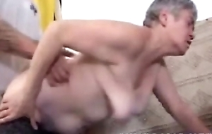 Granny Gets Fucked Wide of Mailman - More at cuntcams.net