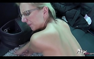 Povbitch Endless be thrilled by upon railway carriage up busty horny glassed comme ci milf