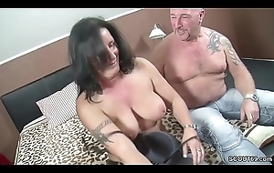 German Strengthen in Tricky Time eon Triplet beside Big Boob MILF