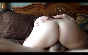 Superb Mom Cum-hole Squirting Wife Creampie
