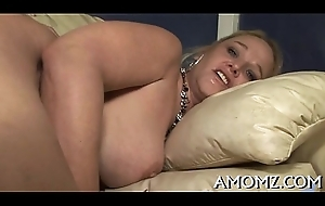 Licking and making out sexy mom