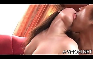 Milf oriental receives fingered with the addition of fucked
