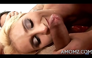 Sex addicted female parent wide a hot action