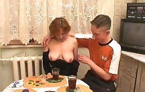 Russian progenitrix copulates connected with son'_s friends at hotsquirtcam.tk