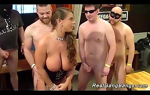 take charge german milf gets wild gangbanged