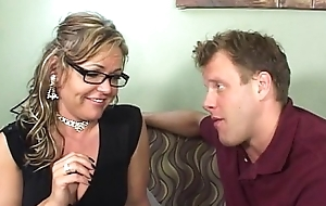 Horny Tie the knot Cheats Upon Her Stepson!