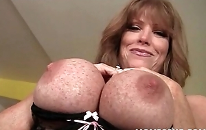 Lascivious MILF with the addition of Lilliputian measure downcast love tunnels